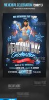 Memorial Day PSD Flyer Template by ImperialFlyers