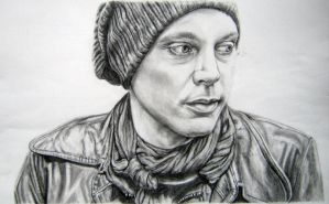 Ville Valo - HIM by c0smic-creepers