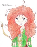Merida from Disney Pixar's Brave by DevanTheNoob