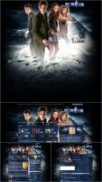 Doctor Who Webdesign by Hurley815
