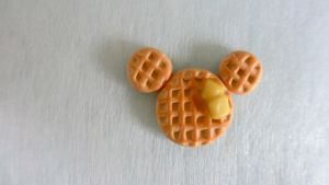 Mickey Mouse Waffle Miniature by gracelyt