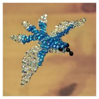 Beaded bird by Kridah