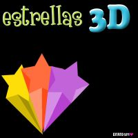 estrellas3D_by_erandyms by SoCuteMonsterxD