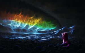 Sonic Rainboom by DropDeadWolf