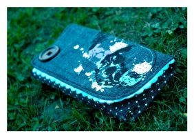 Blue Wallet by Straynj3