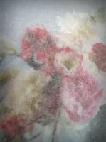 flowers through silk paper by April-Mo