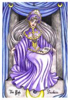 II- the High Priestess Tarot by HypnoticRose