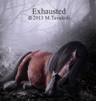 Exhausted by DigitalDreams-Art