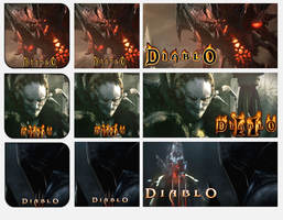 Diablo Villains Trilogy by griddark