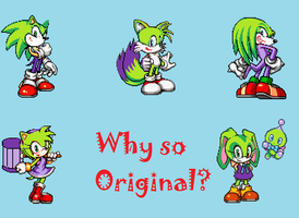 Joker Sonic Team by MrStaryu