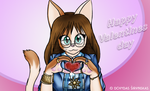 Kitty valentines by Mancoin