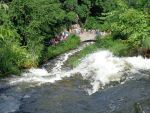 Minnehaha falls from above by ponygirl0316