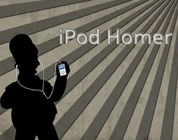 iPod Silhouette Homer by Paulo12