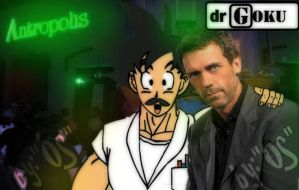 Dr. house and Dr. Goku by solracal
