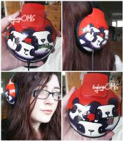 teh headphones by kayleighOMG