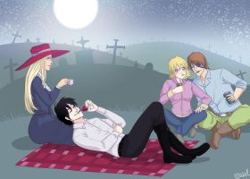 Picnic - Hellsing by Irrel