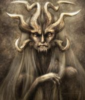 Horned Elder Close Up by Kipestshin