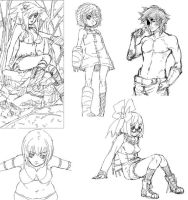 More Sketches 2008-09 by rkl