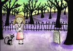 The Tombstone Under the Tree by HipHipRevenge77
