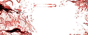 Wallpaper White and Blood by jackelares