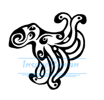 Octopus Tribal Design by InsaneRoman