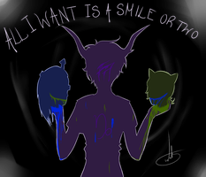A Smile or Two by donuttouch
