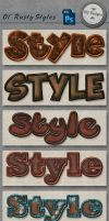 Styles: Ol' Rusty by HGGraphicDesigns