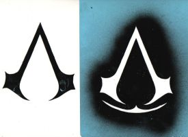 assassins creed logo by caniballoco