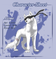 Character sheet6 - Atome by Frodse