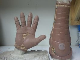 Silicone Glove Sculpt by OldirtyZombie