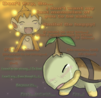 PMD2SPOILERS 'Don't cry...' by Lunaros