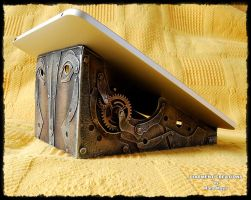 Steampunk Stand for tablet Diarment by Diarment