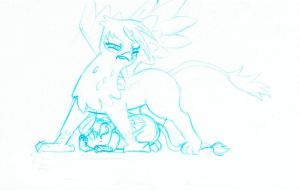 Overly Protective Gilda by Eande by Q99