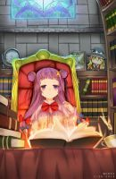The Unmoving Library by Nekomicha