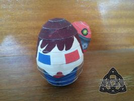 10th Doct'egg by HellswordPapercraft