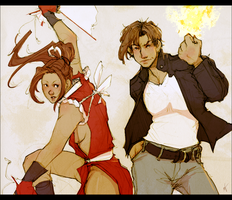 King of Fighters by LMJWorks