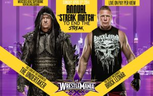 Brock Lesner vs Undertaker Matchcard by AYB12 by AyBenoit12