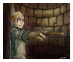 -Trembling- 'HP SPOILER sorta' by yamiza