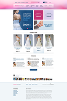 Wedding e-commerce WIP by lefiath