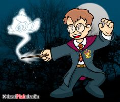 Jovem Nerd as Harry Potter by DeadFishStudio