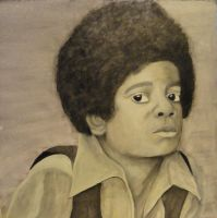 young Michael Jackson by TheSpazOutLoud