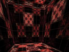 The Crimson Cube of Love by crotafang