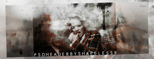 PSD HEADER | IT TAKES ME BACK by Shapeless8