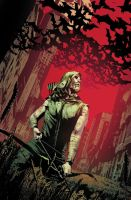 Green Arrow cover by Maiolo