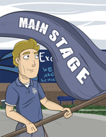 Main Stage -Magazine Cover- by Spopling