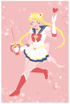 SUPER SAILOR MOON by THEdorkster