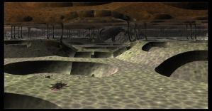 Cave with Swimming Pools ( now empty ) by PhotoComix2