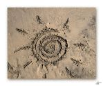 Art on sand 2 by marielee