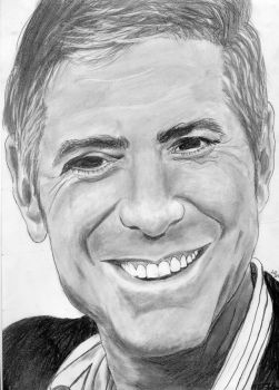 George Clooney by Foxie13