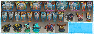 .: Skylanders Figure Collection Updated :. by Dunkin-Prime